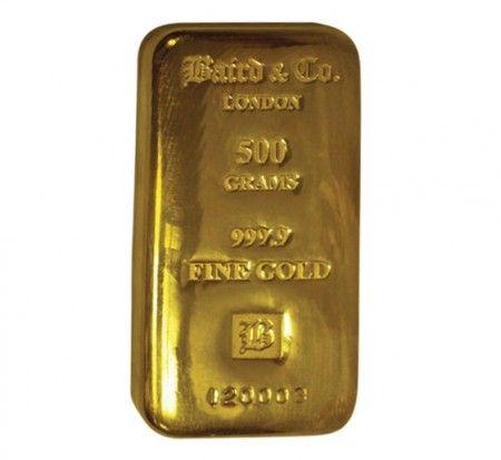 Baird gold cast bar 500 grams buy online