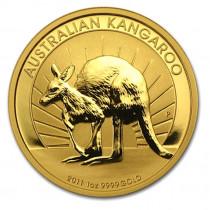 1oz gold 2011 kangaroo, buy online with Indigo