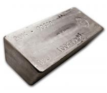 Buy 1,000 oz silver cast bar online with Indigo
