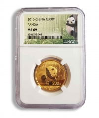 15g gold China Panda, buy online with Indigo
