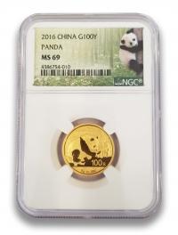 8g gold China Panda NGC slabbed, buy online