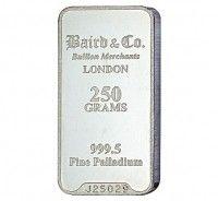 Baird Palladium investment bar 250 grams buy online