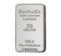 Baird Palladium Investment bar 50 grams buy online