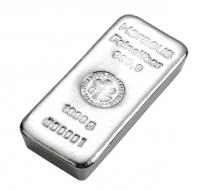 Heraeus Silver cast bar 1 kilo buy LBMA Good Delivery online