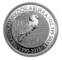 1 oz silver kookaburra 2015 coin | buy online