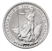 UK Britannia platinum coin 1 ounce buy online in Singapore