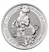 1oz platinum Bull coin buy online