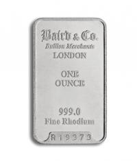 rhodium 1 oz bar investment bar buy online