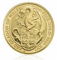 Buy Queen's Beasts 2017   The Red Dragon   1 oz Gold Bullion Coin